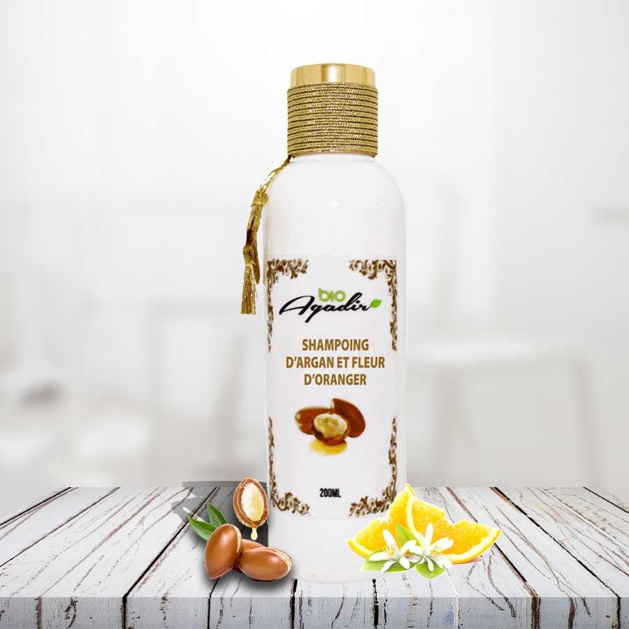 Shampoing à l'huile d'Argan & Fleur d'oranger