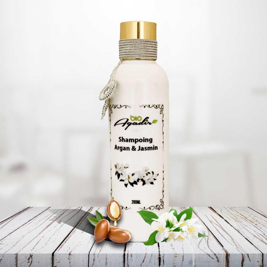 Shampoing Protecteur à l'huile d'Argan et Jasmin