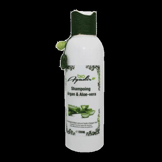 Shampoing Nourrissant à l'Argan et l'Aloe-Vera