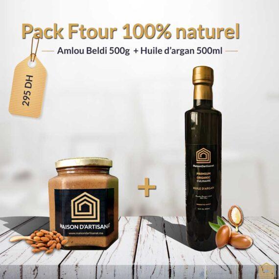 Pack Ftour Grand Gourmand 100% naturel